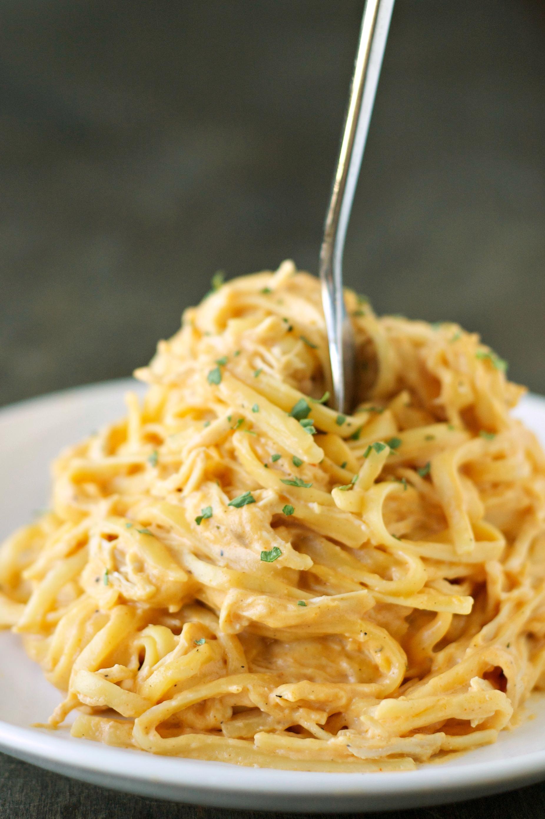 Crockpot Chicken Spaghetti  Slow Cooker Cheesy Buffalo Chicken Pasta Slow Cooker Gourmet
