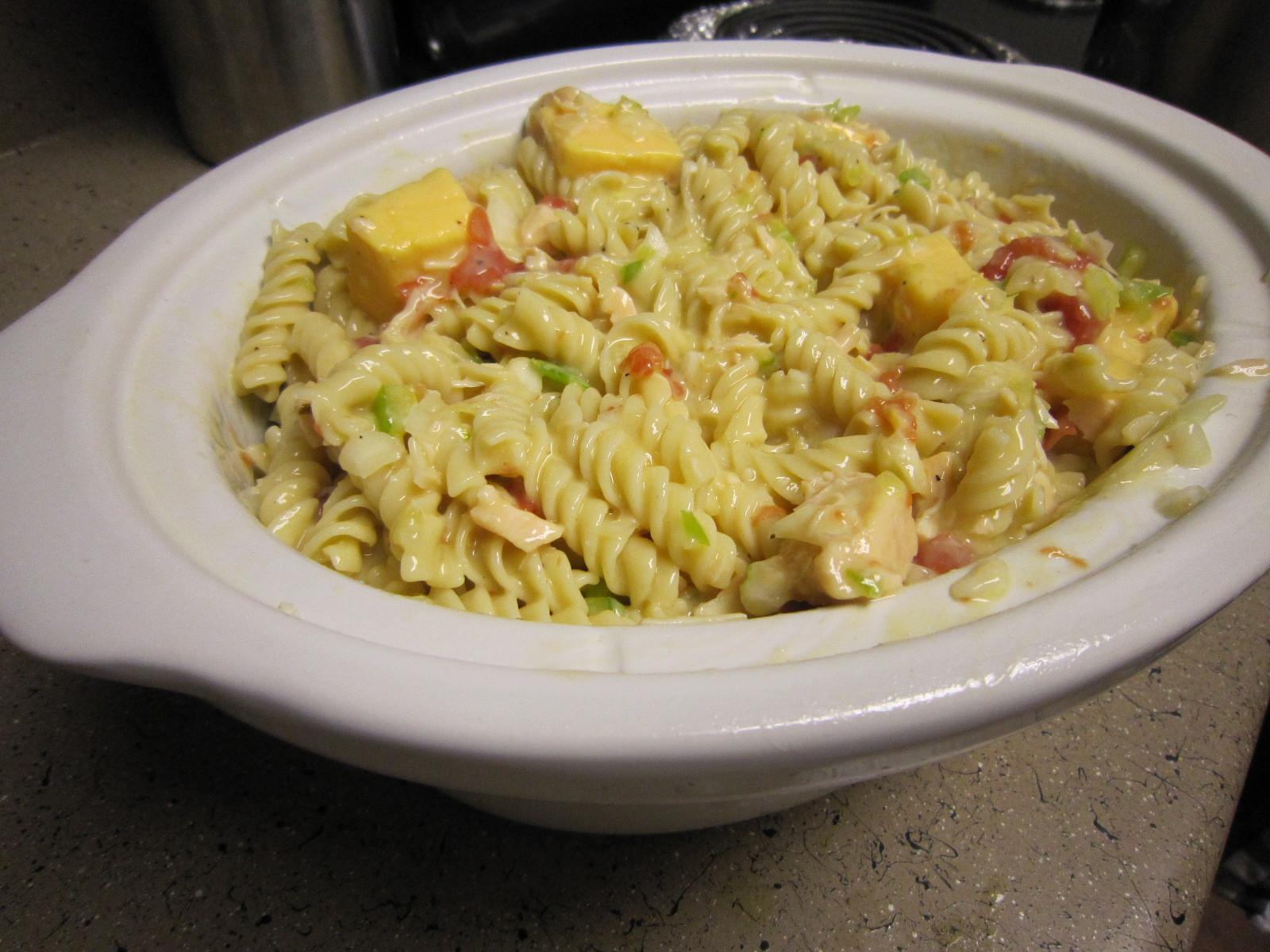 Crockpot Chicken Spaghetti  Living a Changed Life Recipe Review Crockpot Cheesy