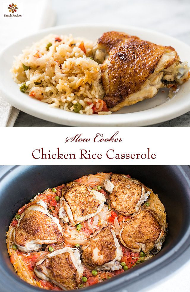 Crockpot Chicken Thighs And Rice  1000 ideas about Crockpot Chicken Thighs on Pinterest