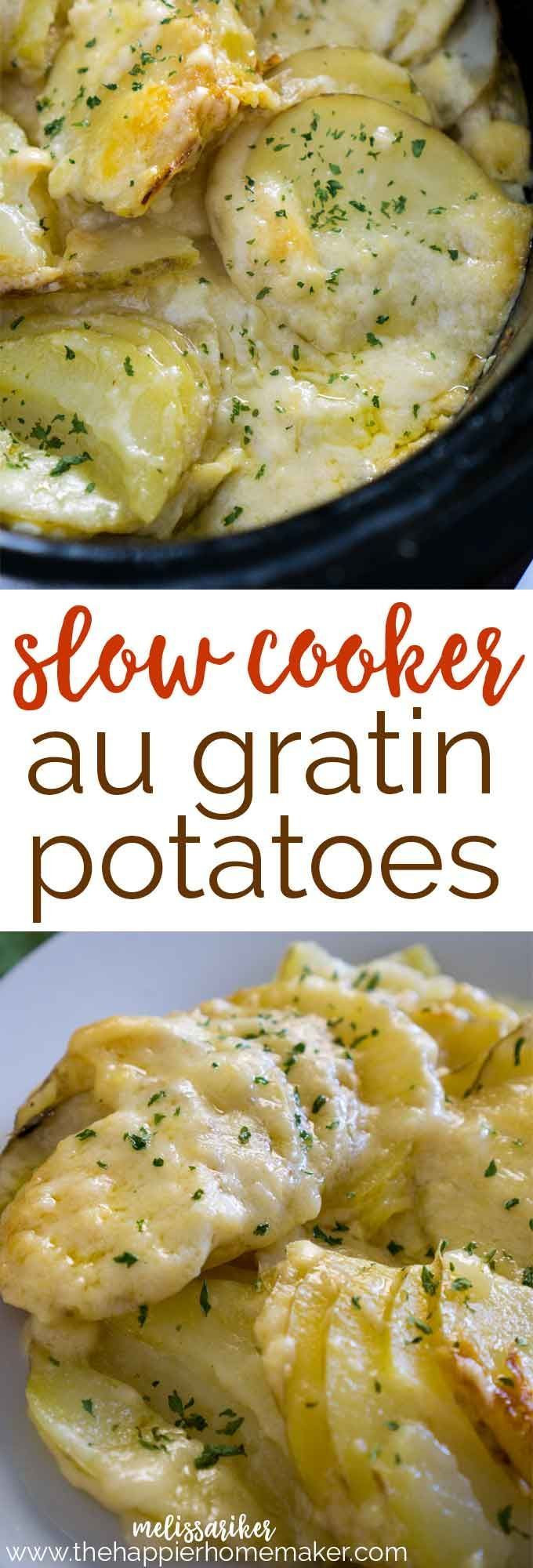 Crockpot Potato Recipes  Best 25 Crock pot potatoes ideas on Pinterest