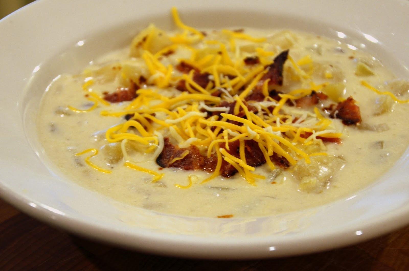 Crockpot Potato Soup Recipe  Mennonite Girls Can Cook Crock Pot Potato Soup