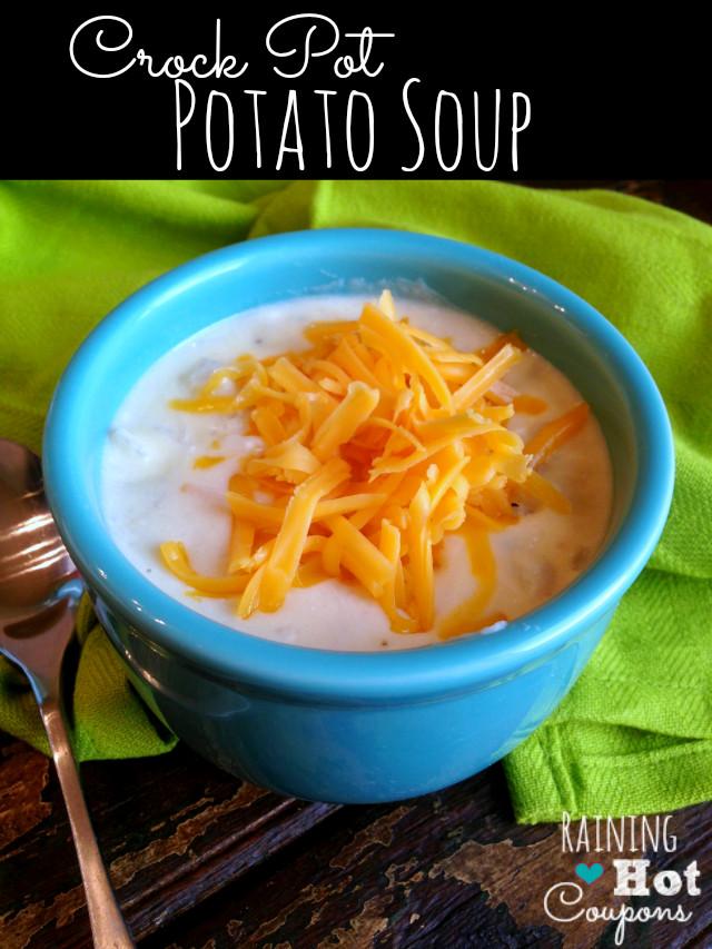 Crockpot Potato Soup Recipe  Paula Deen s Crock Pot Potato Soup Recipe this is the