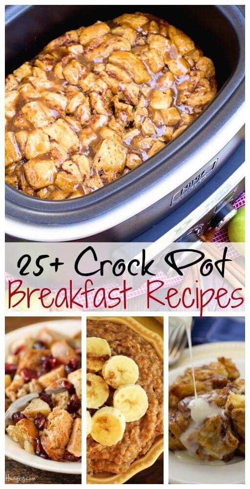 Crockpot Recipes Breakfast  The 25 best Breakfast crockpot recipes ideas on Pinterest