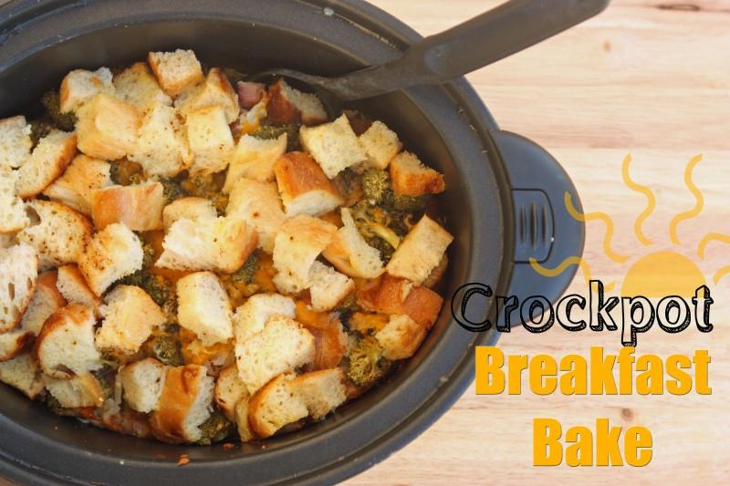 Crockpot Recipes Breakfast  Crockpot Breakfast Bake Recipe