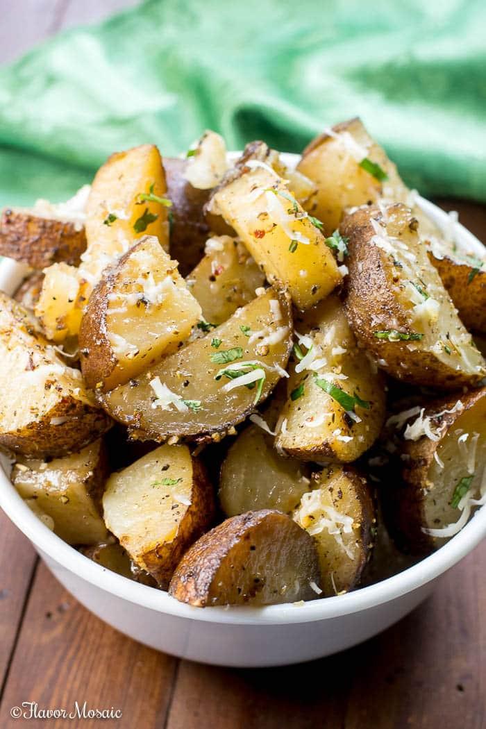 Crockpot Roasted Potatoes  Crockpot Roasted Potatoes Flavor Mosaic