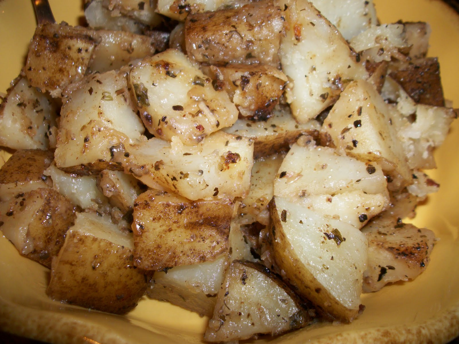 Crockpot Roasted Potatoes  Kaitlin in the Kitchen Crock Pot Herb Roasted Potatoes