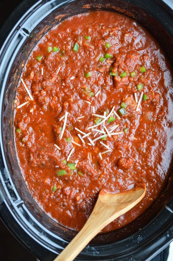 Crockpot Spaghetti Sauce  Rachel Schultz CROCKPOT TOMATO PASTA SAUCE