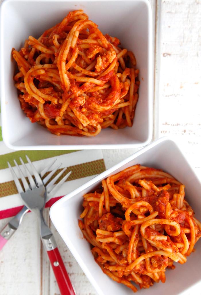 Crockpot Spaghetti Sauce  Crock Pot Spaghetti