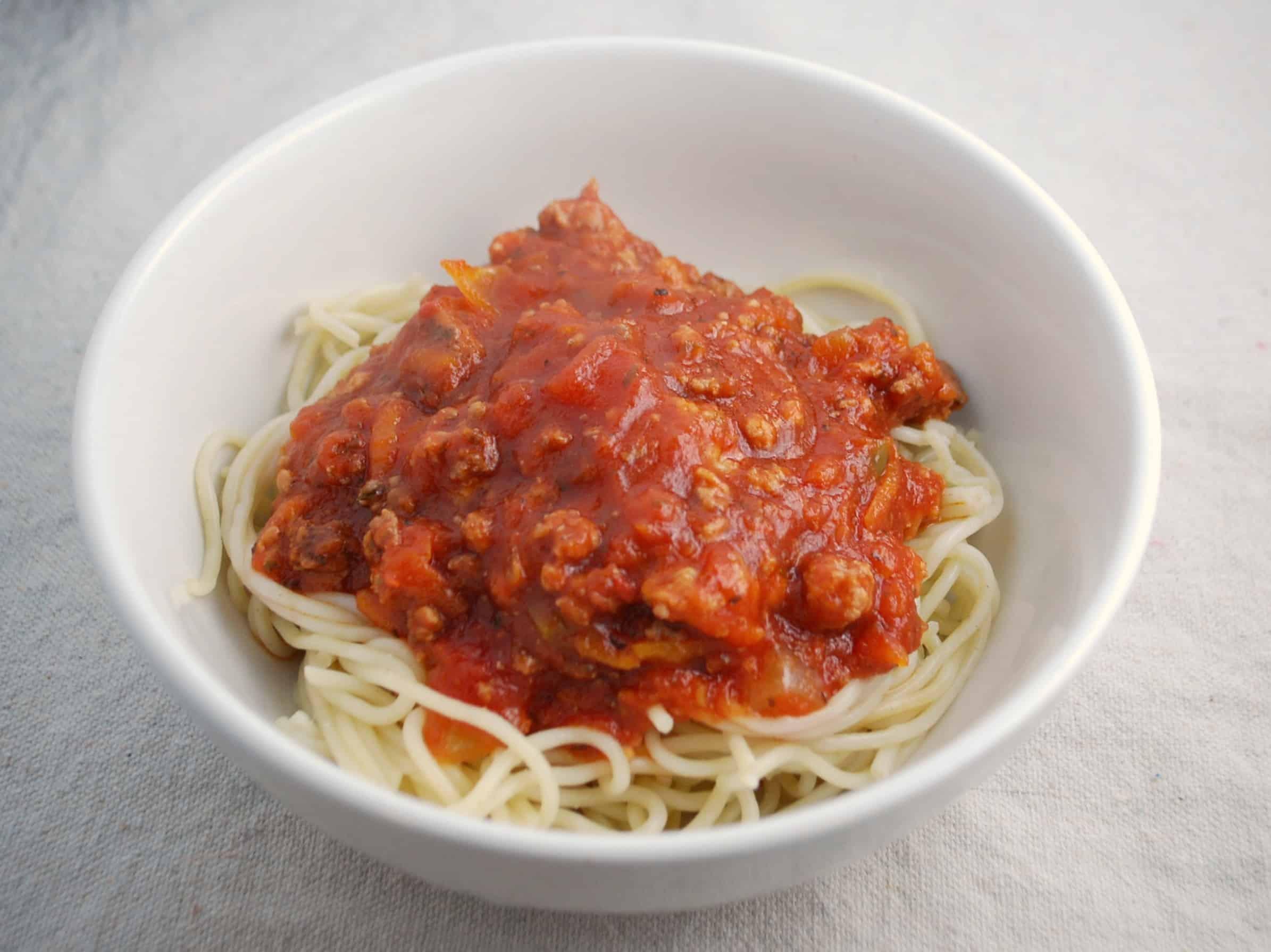 Crockpot Spaghetti Sauce  Crock Pot Spaghetti Sauce