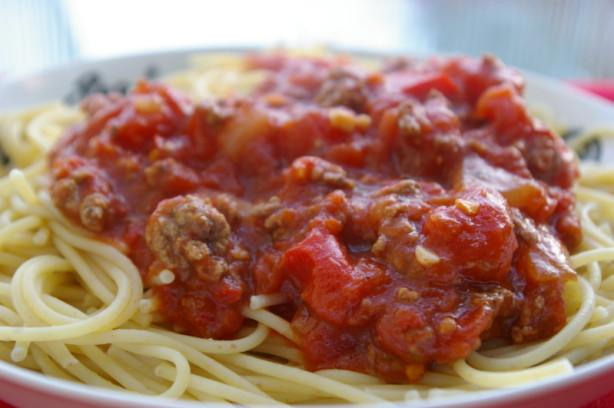 Crockpot Spaghetti Sauce  My Crock Pot Spaghetti Sauce Recipe Food