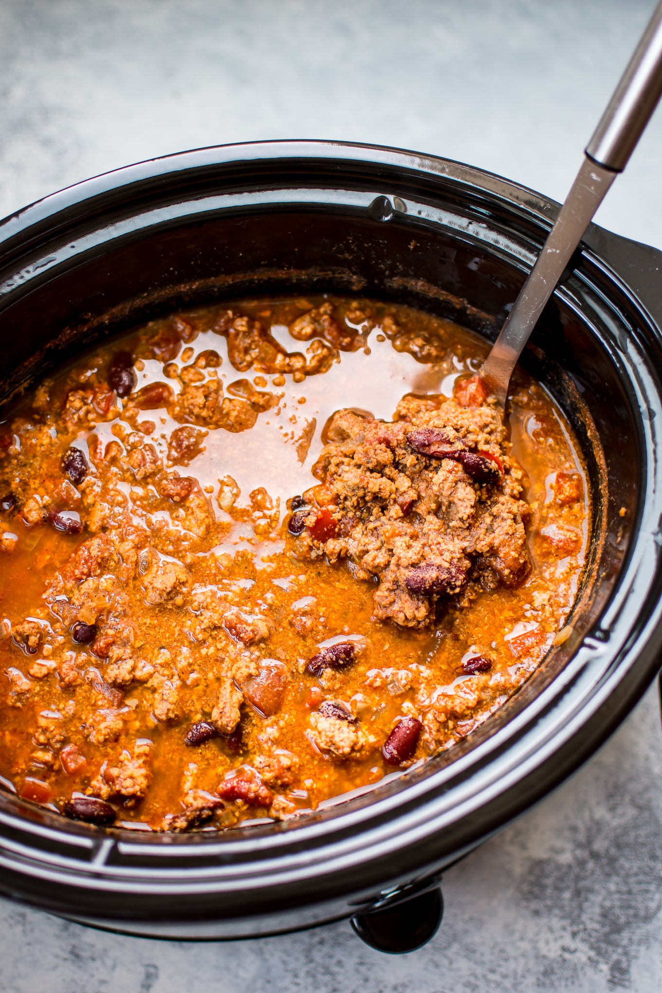 Crockpot Turkey Chili  Crockpot Turkey Chili • Salt & Lavender