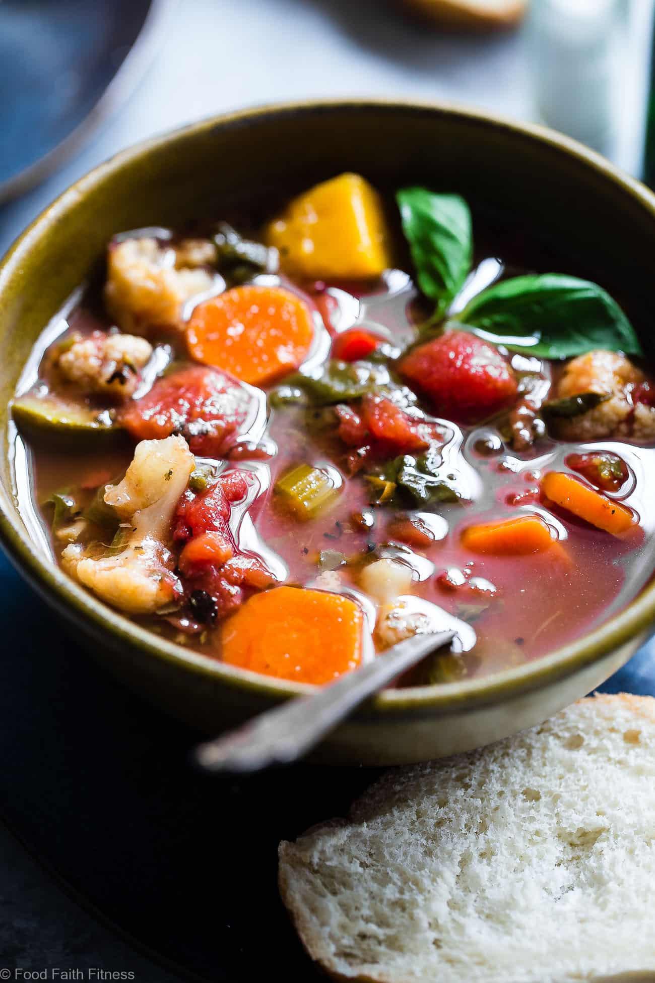 Crockpot Vegan Recipes  Easy Homemade Crockpot Ve able Soup