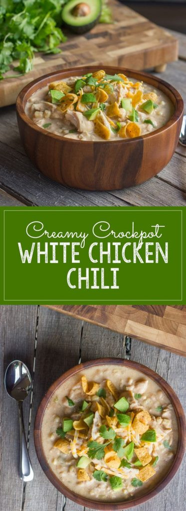 Crockpot White Chicken Chili  Crockpot Soup Recipes Perfect for Fall landeelu