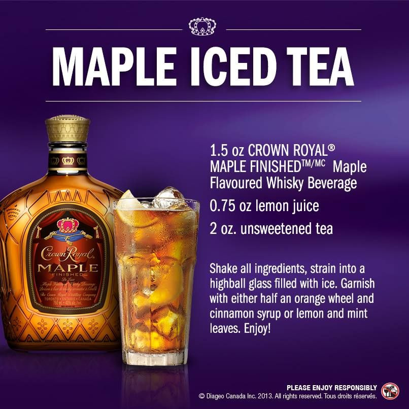 Crown Apple Drinks Recipes  5 Crown Royal Regal Apple Flavored Whisky Drink Recipes