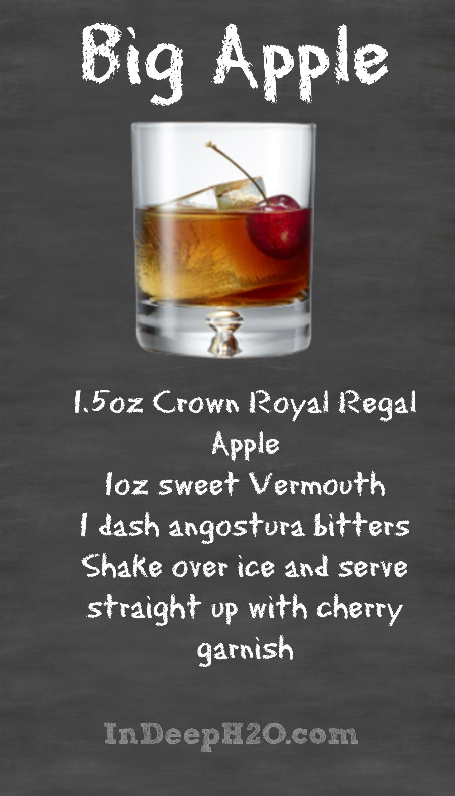 Crown Apple Drinks Recipes  Crown Royal Regal Apple Cocktail Recipes CrownApple In