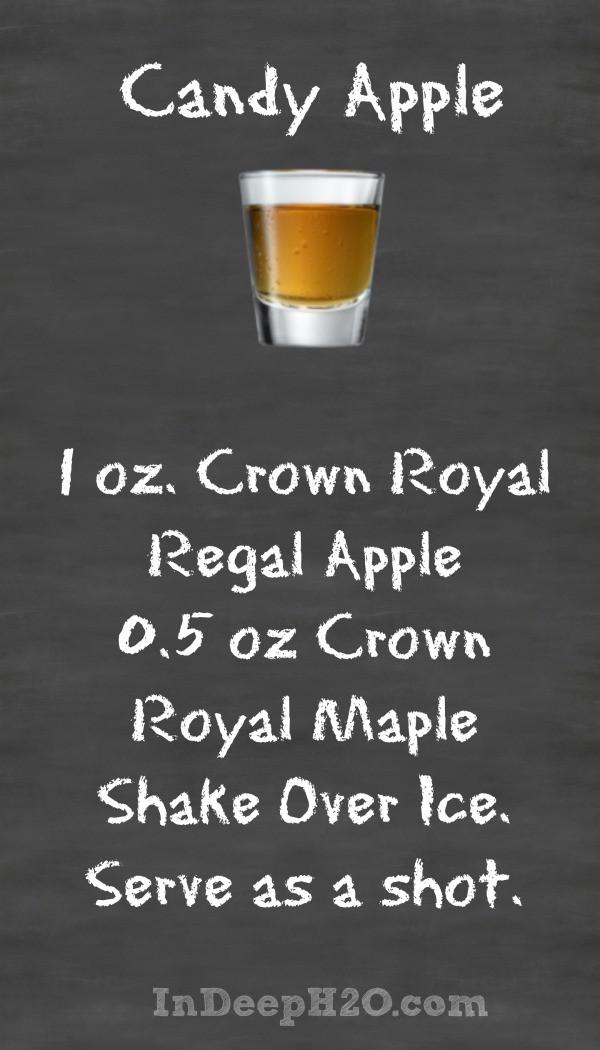 Crown Apple Drinks Recipes  Crown Royal Regal Apple Cocktail Recipes CrownApple In