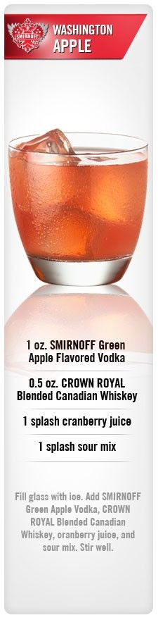 Crown Apple Drinks Recipes  Drinks