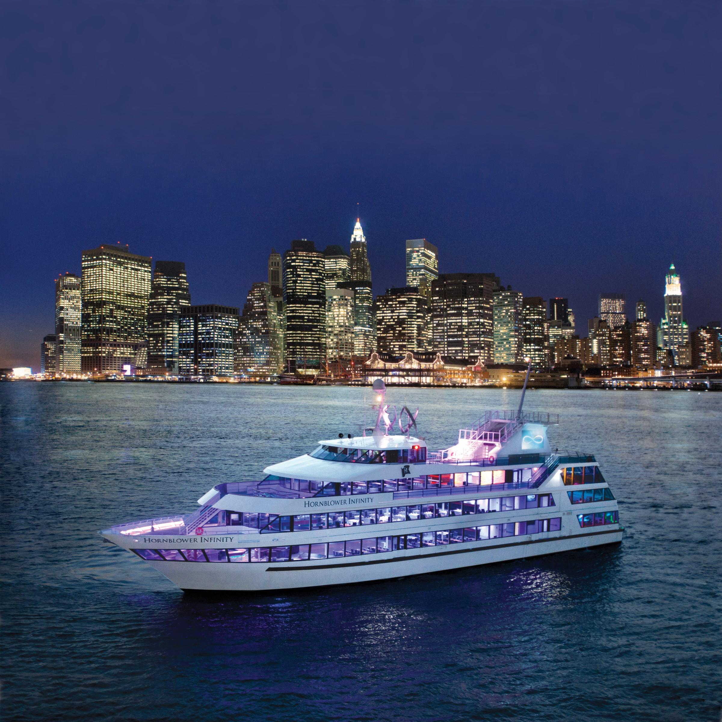 Cruise Dinner Nyc  Hornblower Dining Cruises on Hudson
