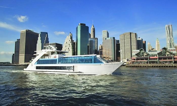 Cruise Dinner Nyc  New York City Dinner Cruise Hornblower Cruises