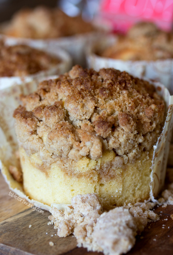Crumb Cake Recipe  New York Style Coffee Cake Crumb Muffins Table for Two