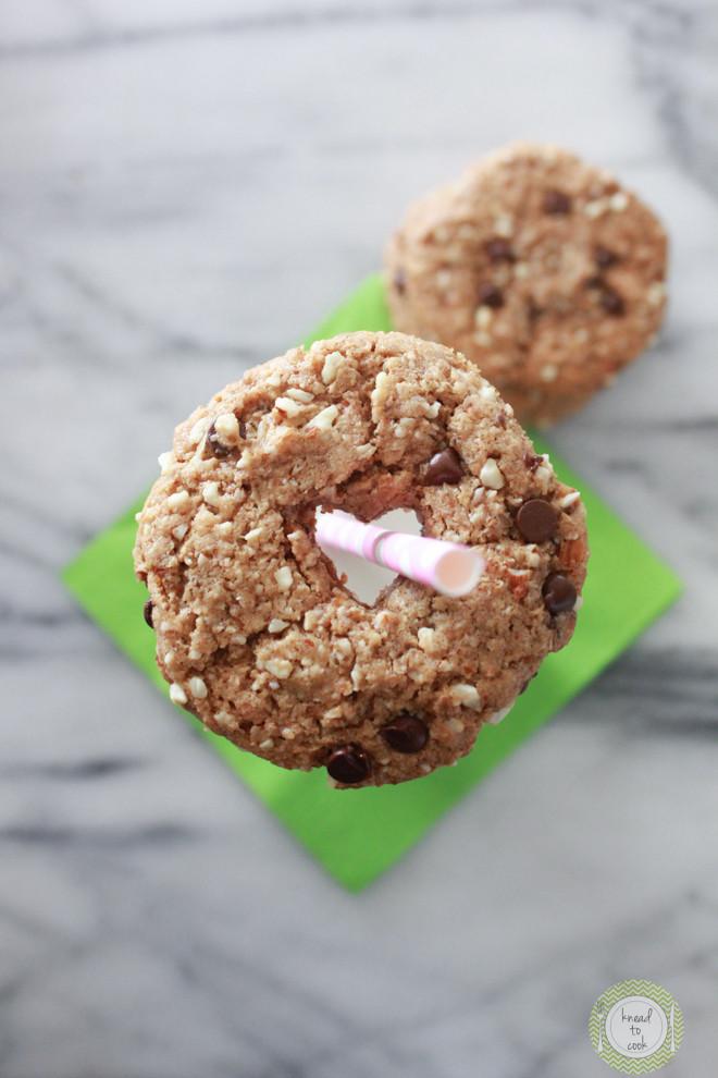 Crunchy Chocolate Chip Cookies  Crispy Almond Butter Chocolate Chip Cookies