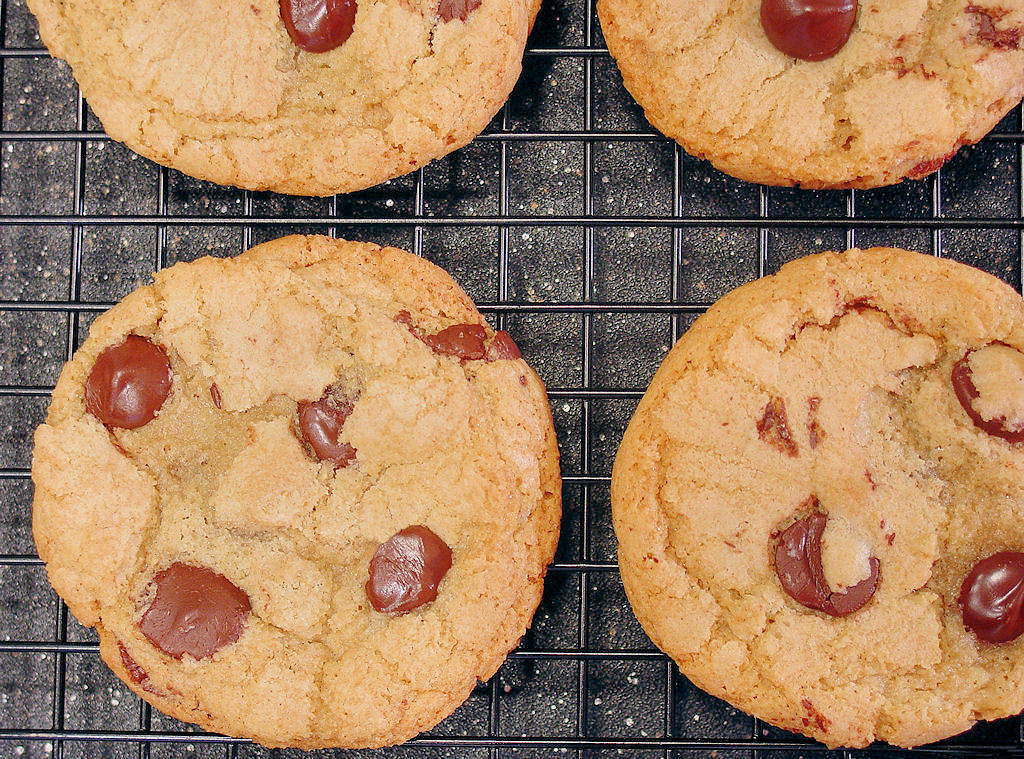 Crunchy Chocolate Chip Cookies  Crispy & Chewy Chocolate Chip Cookies gluten free