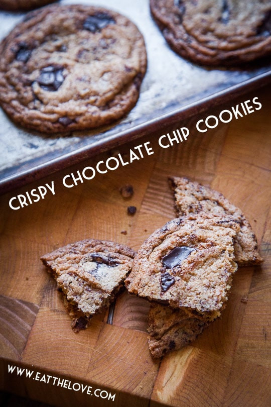Crunchy Chocolate Chip Cookies  Crispy Chocolate Chip Cookie