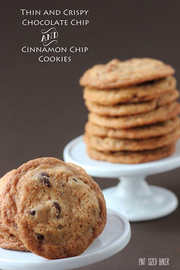 Crunchy Chocolate Chip Cookies  chocolate chip cinnamon cookies