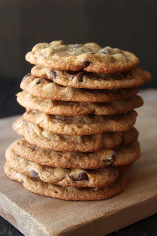 Crunchy Chocolate Chip Cookies  Best 25 Crispy chocolate chip cookies ideas on Pinterest