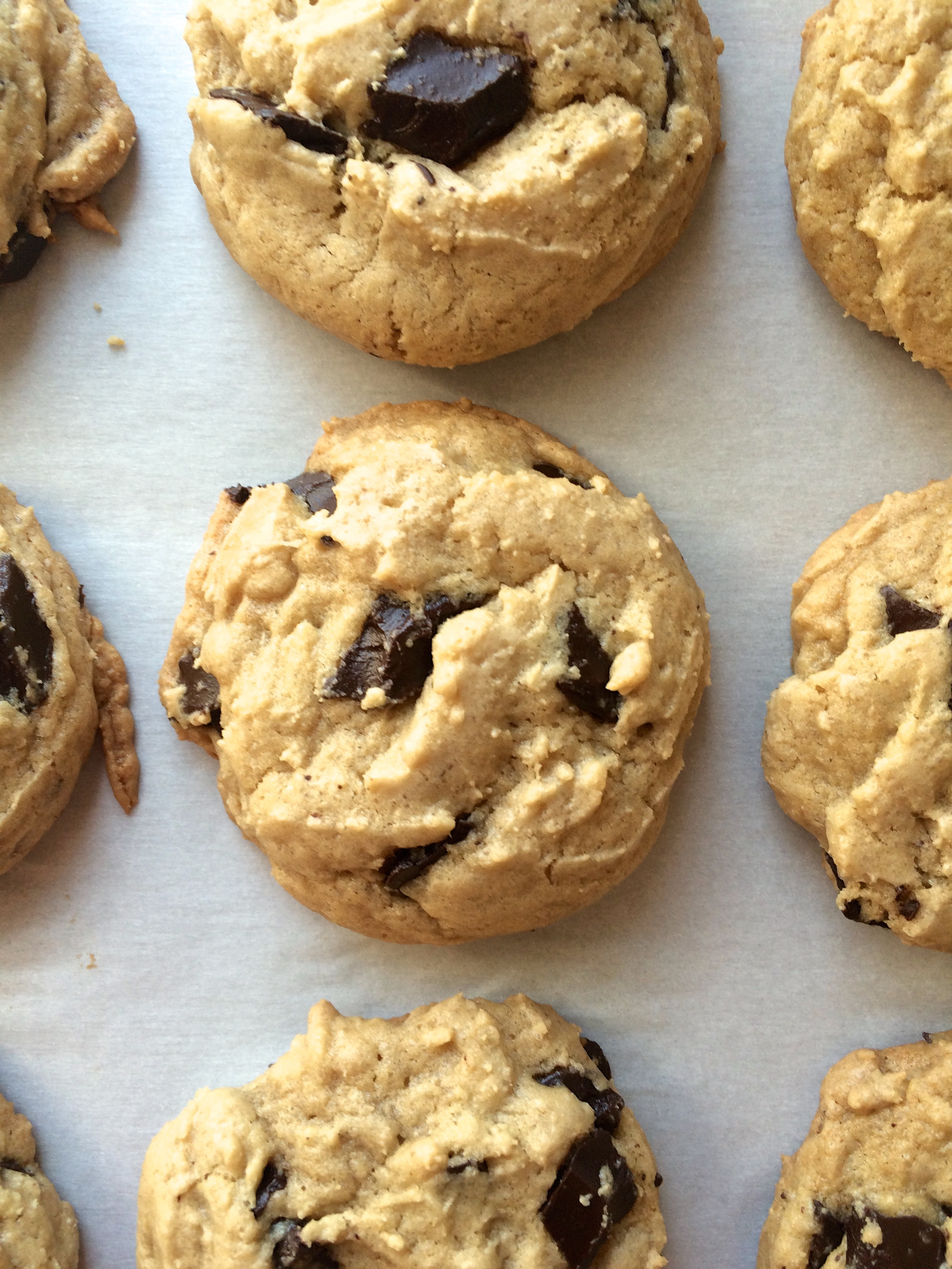 Crunchy Chocolate Chip Cookies  Crispy Chewy Chocolate Chip Cookies – I d Much Rather Be