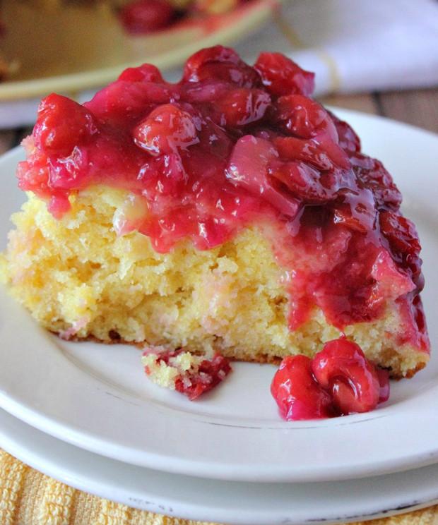 Crushed Pineapple Upside Down Cake  Cherry Pineapple Upside Down Cake Recipe RecipeChart