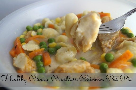 Crustless Chicken Pot Pie  Pot pies Lost and 1 month on Pinterest