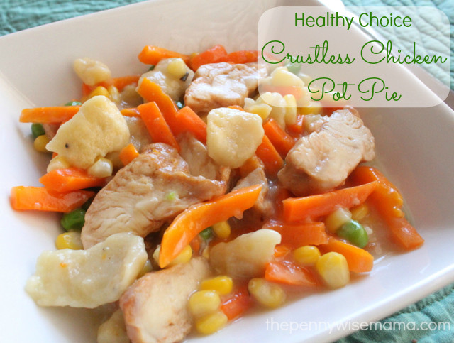 Crustless Chicken Pot Pie  Live a Healthier Lifestyle by Making HealthyChoices The