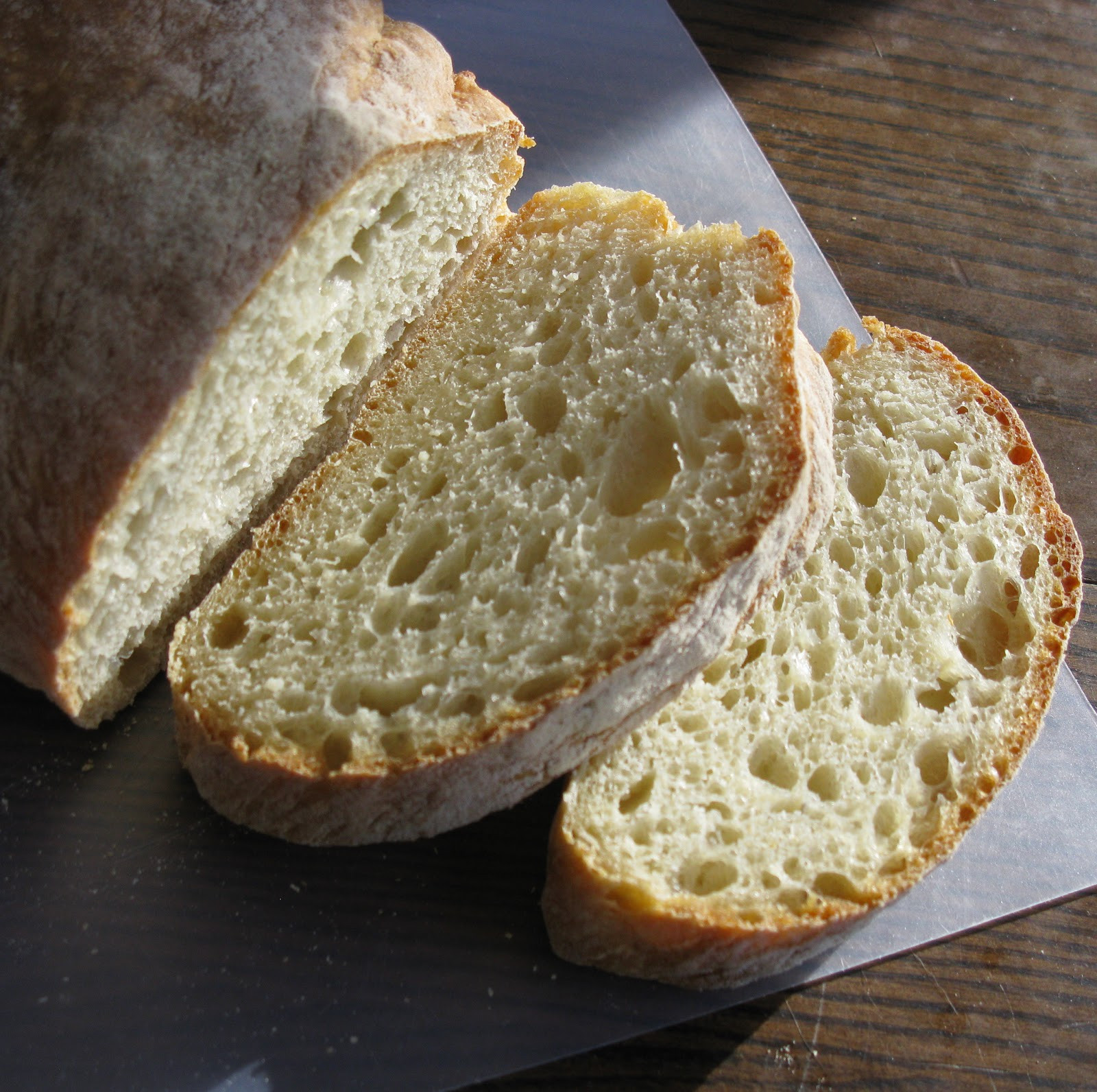 Crusty Bread Recipe  Food for A Hungry Soul Best Yet Easiest Yet Crusty