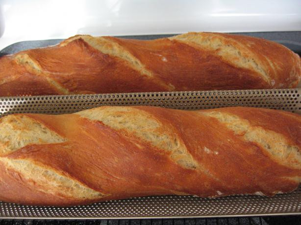 Crusty French Bread Recipe  Crusty Country Style French Bread Recipe Food