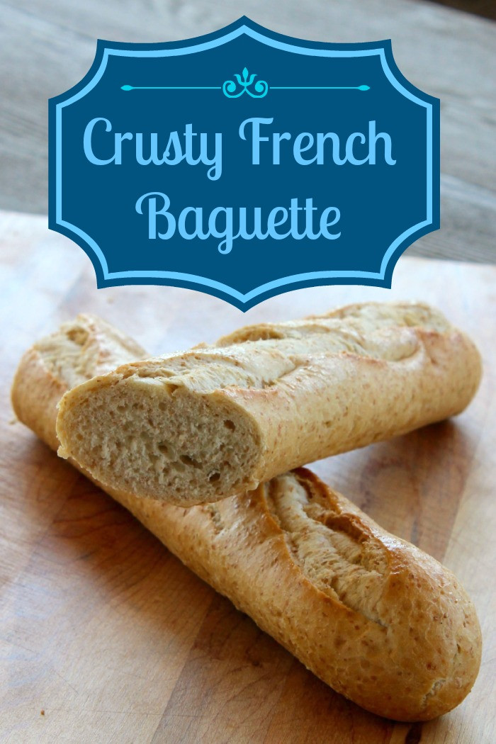 Crusty French Bread Recipe  French Baguette Recipe The Wilderness Wife