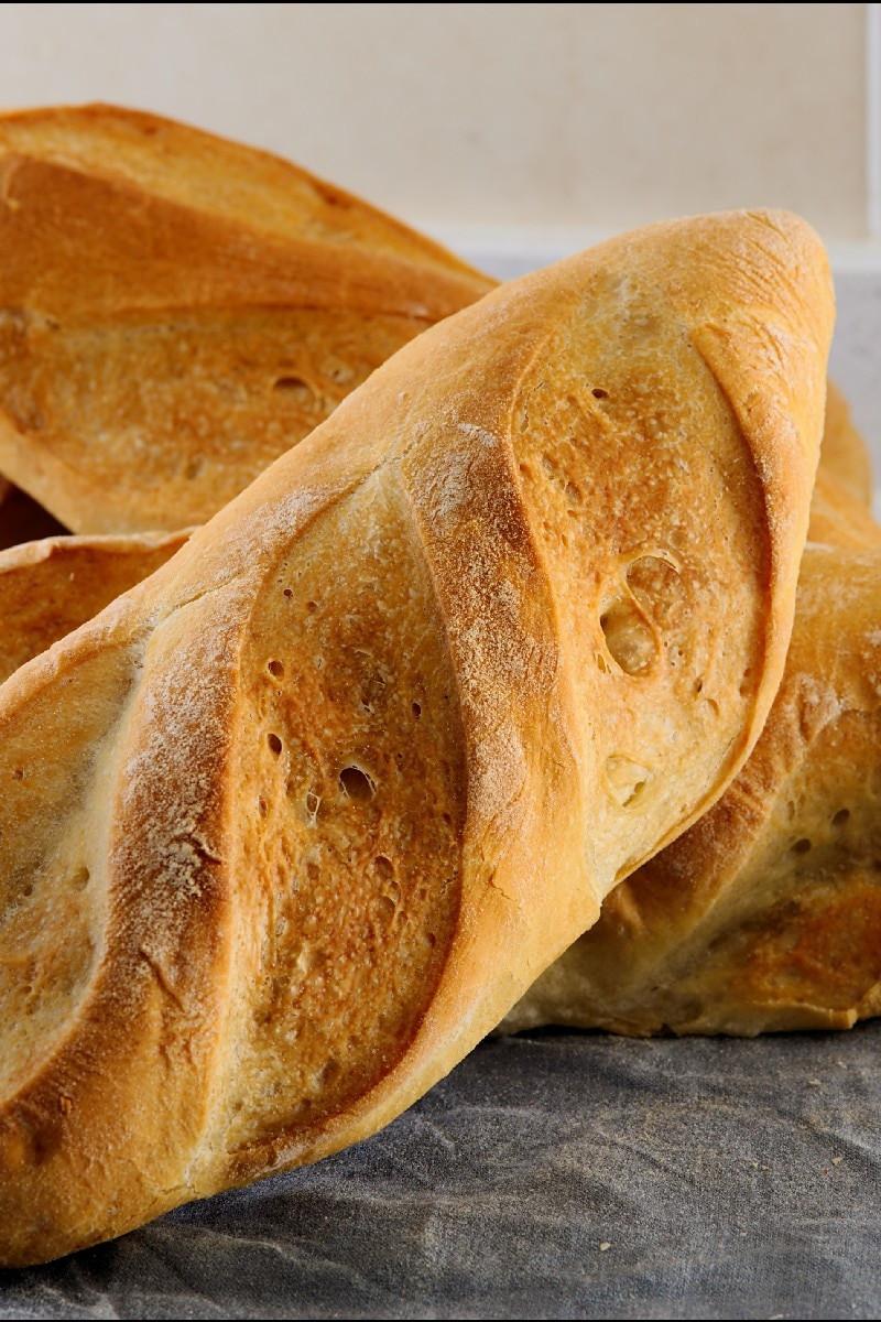Crusty French Bread Recipe  Crusty French Bread