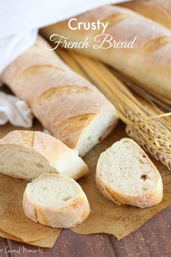 Crusty French Bread Recipe  Bakery Style Crusty French Bread