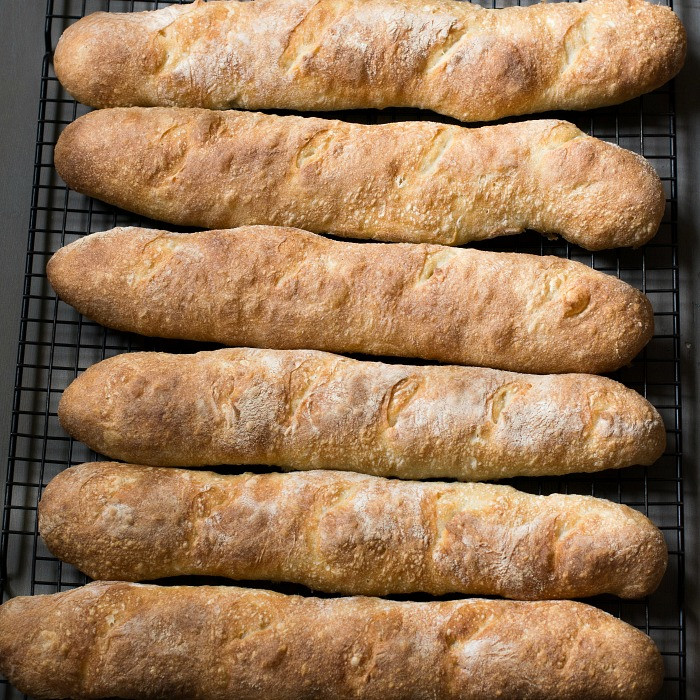 Crusty French Bread Recipe  Crusty French Baguettes 4 Hour Recipe No Starter Necessary