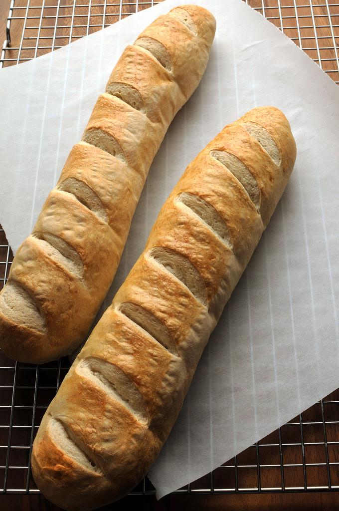 Crusty French Bread Recipe  Crusty French Bread Mixed in a Bread Machine