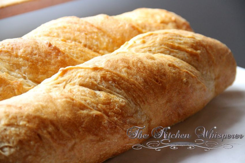 Crusty French Bread Recipe  Crusty French Baguettes