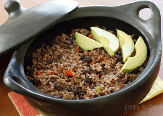 Cuban Black Beans And Rice  Arroz Congri Cuban Rice and Black Beans