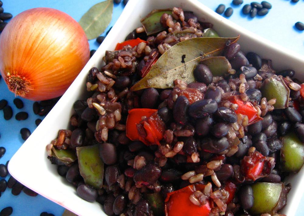 Cuban Black Beans And Rice  Authentic Cuban Black Beans and Rice Vegan Program