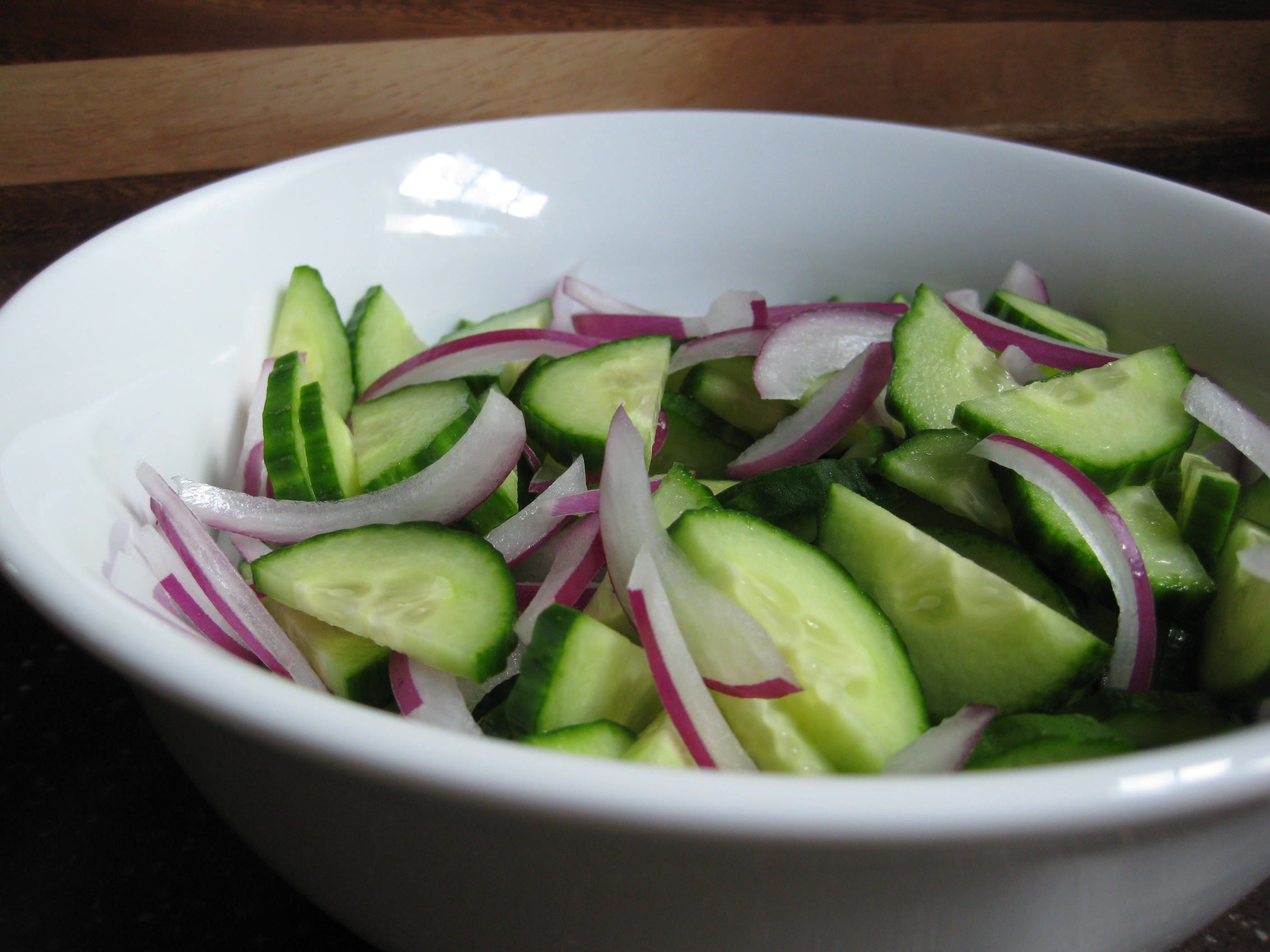 Cucumber Onion Salad  Try This Salad at Your End of Summer Barbecues