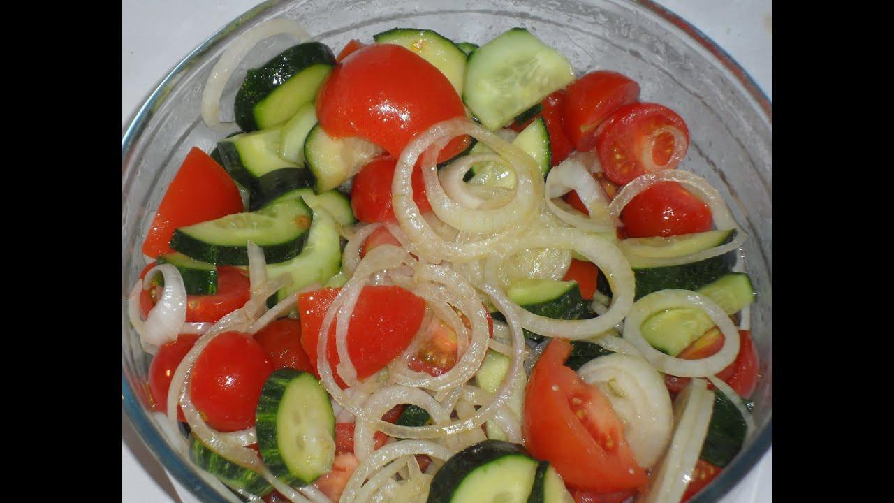 Cucumber Onion Tomato Salad  Cucumber Tomato And ion Salad