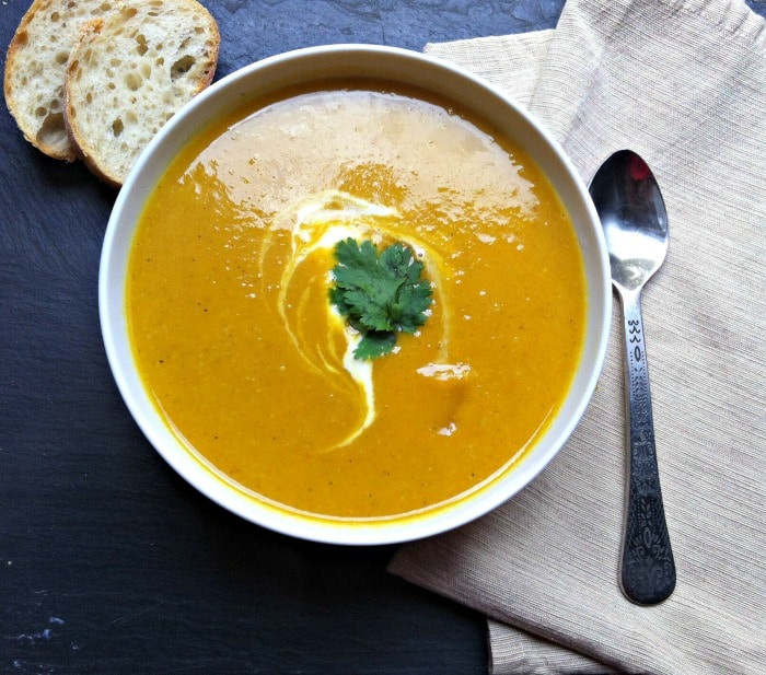 Curried Butternut Squash Soup  Curried Coconut Butternut Squash Soup Recipe A Cedar Spoon