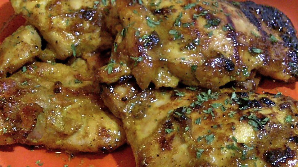 Curried Chicken Thighs  Honey Curry Chicken Thighs Recipe