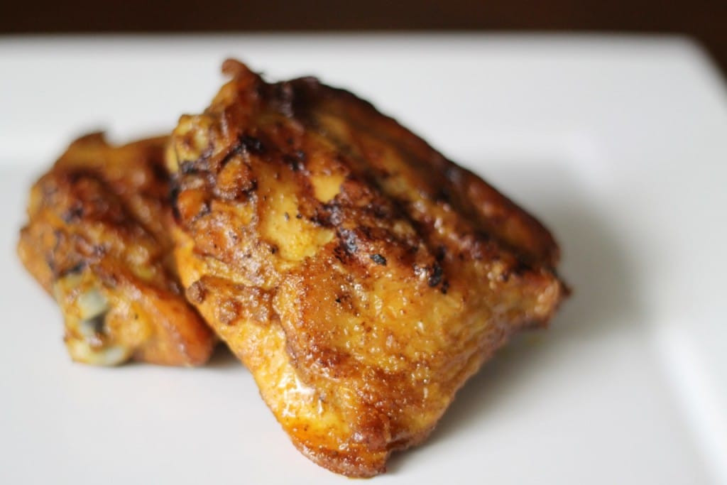 Curried Chicken Thighs  My Review of the Char Broil Tru Infrared Gourmet Series