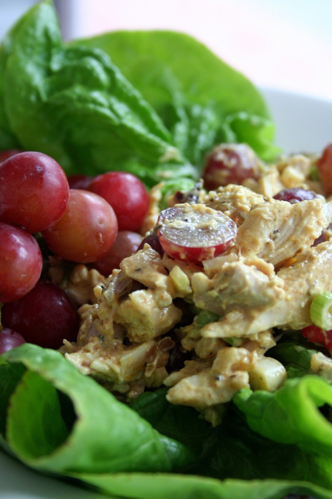 Curry Chicken Salad With Grapes  Curried Chicken Salad