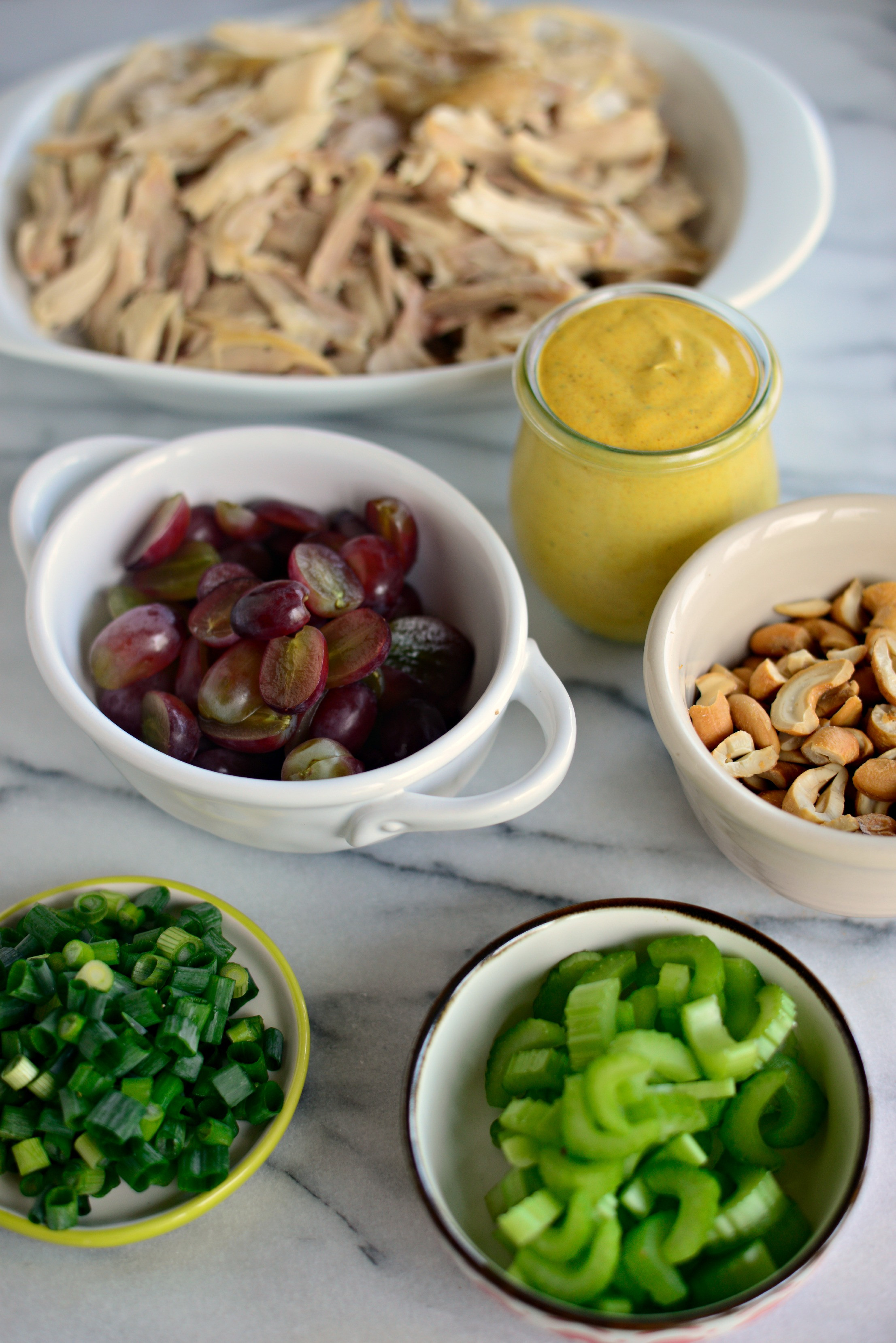 Curry Chicken Salad With Grapes  Simply Scratch Curried Chicken Salad with Grapes Cashews